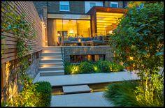 Convivial Town garden by Charlotte Rowe Garden Design