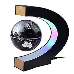 Gocheer Lévitation magnétique, Gocheer Rotation élevée Suspension magnétique en forme de C Globe de levitation Maglev Avec des lumières LED pour Apprentissage Éducation Enseignement Demo Accueil Bureau Décoration de bureau: Amazon.fr: High-tech