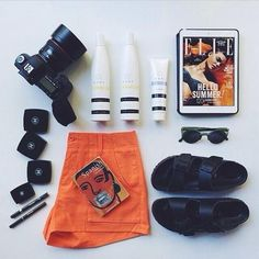 3 Cool Fashion Flat Lay Photos from Instagram   StyleCaster