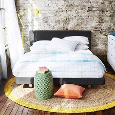 Freedom Furniture Helsinki Bed Frame for Main Bedroom - Possibly light grey instead.
