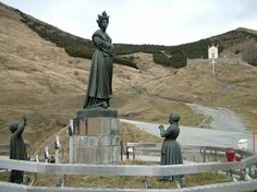"""On September 19, 1846, about 3:00 in the afternoon, two children in southeast France beheld a vision of the Virgin Mary.      A shepherdess of 15 named Mélanie  and a shepherd boy of 11 named Maximin were tending cows  on a mountain about three miles distant from the village of La Salette when both of them saw a """"beautiful lady"""" seated and crying, surrounded by light."""
