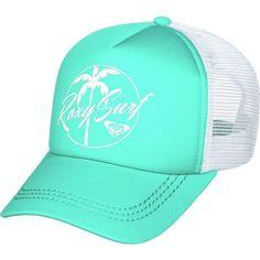 dd7fe2da72e Roxy Truckin Trucker Hat ( 14) ❤ liked on Polyvore featuring accessories