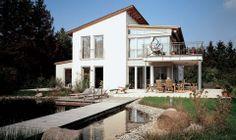 Modernes Pultdachhaus Ein faszinierendes Wohnerlebnis: Ungewöhnliches Design, raffinierte Raumaufteilung, viel Licht und Raum zu...