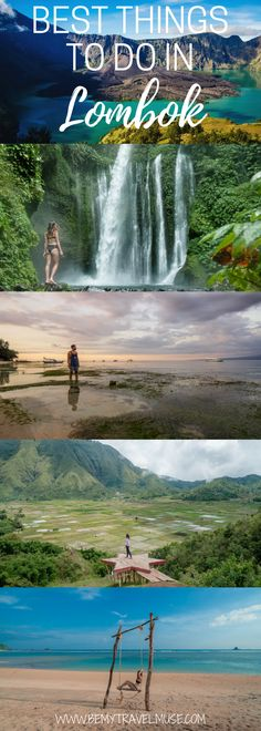 Here are the best things to do in Lombok, Indonesia. The best beaches and waterfalls, mountains to hike and other cool spots that are off the beaten path   Be My Travel Muse #lombok #indonesia