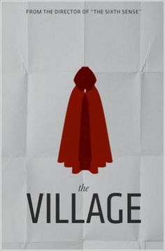 The Village Minimalist Movie Poster
