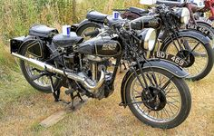 Rudge Motorcycles, a very nice pair