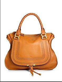 Chloe Chloe Marcie Bag, Chloe Bag, Large Shoulder Bags, Leather Satchel,  Satchel ef2ea429e0