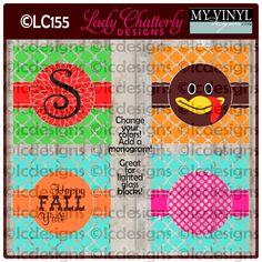 DIGITAL DOWNLOAD ... Thanksgiving Vectors in AI, EPS, GSD, & SVG formats @ My Vinyl Designer #myvinyldesigner #ladychatterly
