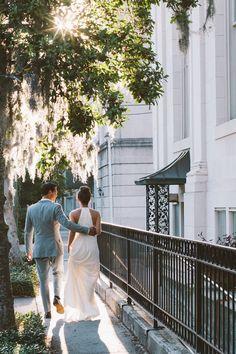 Intimate Savannah Park Wedding Lilly Domenick