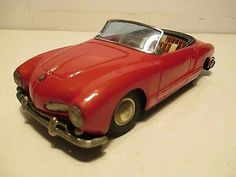 1960 VOLKSWAGEN KARMANN GHIA CONVERTIBLE FRICTION MADE IN JAPAN BY BANDAI  $379.00Approx NOK3,157.54