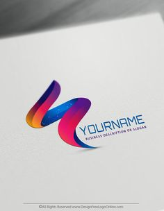 Online 3D logo making never been easier.  Use the most advanced online 3D logo creator to design your own abstract logo online free - without registration.  #3dlogo #abstractlogo