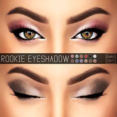 Simpliciaty: Rookie Eyeshadow – N01 • Sims 4 Downloads