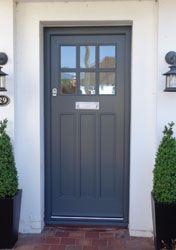15 Ideas old navy front door Victorian Front Doors, Grey Front Doors, Front Doors With Windows, Exterior Front Doors, Painted Front Doors, Hardwood Front Doors, Cottage Style Front Doors, Cottage Door, House Front Door