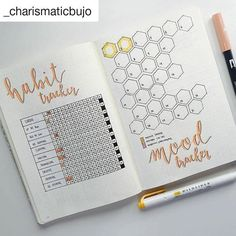 By @_charismaticbujo     Tag your photos with #bujobeauty for a chance to be featured   ・・・  habit tracker and mood tracker for October :) liking it very much, and also off to a happy and good start . :)    #Regram via @www.instagram.com/p/BaK_2j7jxYz/?saved-by=jihielephant