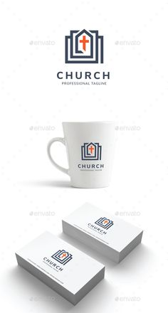 Church Logo Template Vector EPS, AI Illustrator #logotype