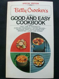 $2.00 Betty Crocker's Good & Each Cookbook Spec. Ed. 1975 PB  (42615-907) vintage
