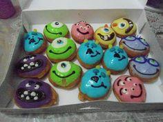 Monsters University Doughnuts from Krispy Kreme