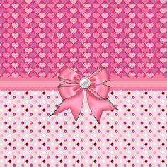 """""""Végtelen rózsaszín szívek"""" Debra Miller.:"""
