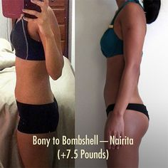 50 Incredible Skinny To Fit Female Muscle Gain Transformations!