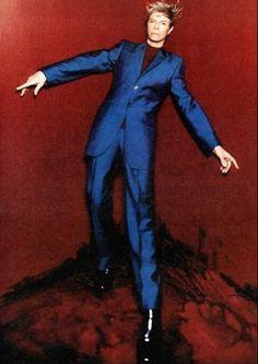 David Bowie always had style.