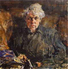 Портрет Е.М.Конуриной (1917). Николай Фешин