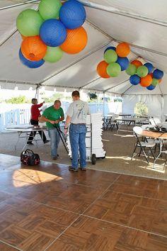 Tent Decor #wedding