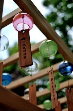 Saitama: Kawagoe Hikawa Shrine, matchmaking furin (wind-bells) 埼玉: 川越氷川神社, 縁結び風鈴 #japan #sightseeing