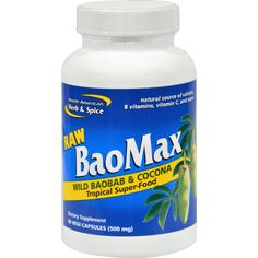 North American Herb And Spice Baomax - 90 Vegetarian Capsules