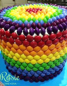 Skittle rainbow cake                                                                                                                                                                                 More