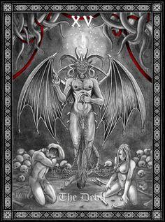 Tarot The Devil by Doberlady