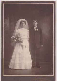 Victorian Wedding Cabinet Photo