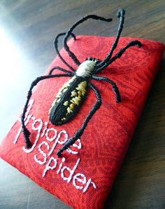 Psudeo-Stumpwork on the fly - sushi, spiders, and more - NEEDLEWORK