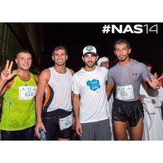 "H.H Sheikh Hamdan bin Mohammed bin Rashif Al Maktoum ""Crown Prince of Dubai"" with 10 km run participants at the finish line at NAS Sports tournament 2014. #nas14 @ faz3 ▃▃▃▃▃▃▃▃▃▃▃▃▃▃▃▃▃▃ emojirepost from @NasSportsDubai"
