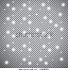 Snow. Snow. Falling Christmas Shining Transparent Snow Isolated On The A Transparent Background. Snowflakes, Light Glitter Snowfall. Vector Illustration. 2017 - 508196902 : Shutterstock