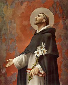 8 Agosto. Santo Domingo, patrón de los científicos especialmente de los astrónomos.