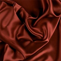 Solid Copper Stretch Silk Charmeuse FabricThis high quality stretch charmeuse is made with a satin weave which is soft, Inchies, Silk Sheets, Brown Aesthetic, Rainbow Aesthetic, Silk Charmeuse, Club Style, Fashion Fabric, Aesthetic Pictures, Satin Fabric
