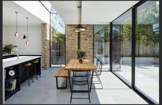 Living Room Kitchen, Kitchen Inspiration, Terrace, Furniture, Home Decor, Kitchens, Balcony, Decoration Home, Patio
