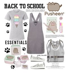 """""""#PVxPusheen: 14/08/16"""" by pinky-chocolatte ❤ liked on Polyvore featuring Pusheen, New Look, MANU Atelier and McQ by Alexander McQueen"""