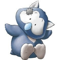 Tatty's - My Blue Nose Friends - Midnight The Nocturnal Owl - Who loves a good party wherever he is, you know it'll be a hoot! Tatty Teddy, Friends Image, Cute Friends, Cute Images, Cute Pictures, Animal Drawings, Cute Drawings, Baby Animals, Cute Animals