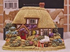 Lilliput Lane .. NEW BEGINNINGS .. Ramsbury - Wiltshire picclick.com