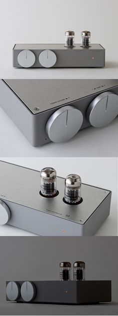 A brand-new tube amplifier from Japan. *sleek and minimalistic