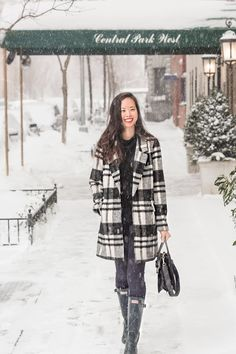 Most stylish snowstorm out there, @shershegoes!