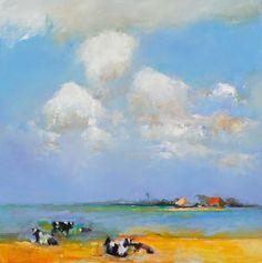 Landschappen Drawings, Landscapes, Paintings, Water, Art, Rain, Paisajes, Gripe Water, Paint