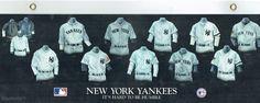 NY YANKEES Jersey hist. RARE LAMINATED 1st edition SALESMAN SAMPLE (MNT) Football Cards, Baseball Cards, Hard To Be Humble, Baseball Uniforms, Sports Magazine, Vintage Football, New York Yankees, Magazines, Best Deals