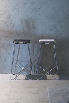 Stylish stools.