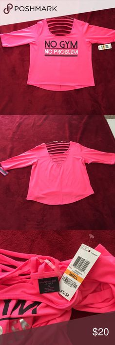 Macy's Material Girl size small Tee pink size small NWT, MSRP$ 32.00 bundle and save Material Girl Tops Tees - Short Sleeve