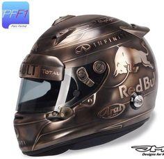 Vettel Monaco 2014 Helmet