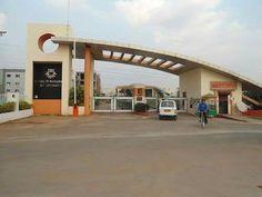 Arch Gate, Entrance Gates, Main Entrance, Main Gate Design, Entrance Design, Parque Industrial, Modern Entrance, Archi Design, False Ceiling Design