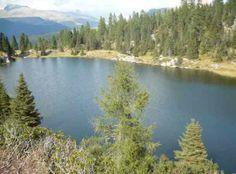Lago sul passo rolle