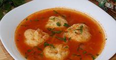 Supa de rosii cu galuste Thai Red Curry, Recipies, Cooking Recipes, Ethnic Recipes, Supe, Food, Romanian Recipes, Recipes, Chef Recipes